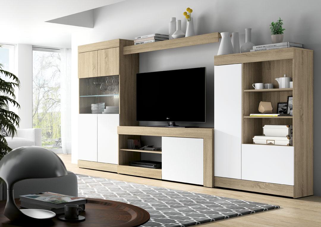COMPOSICION COMEDOR AZR LOGAN4 - Muebles de Tena