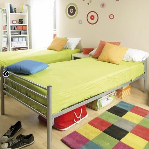Litera metalica convertible en 2 camas muebles de tena - Cama convertible en litera ...