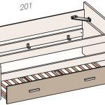 cama compacta 412_E one tecnico