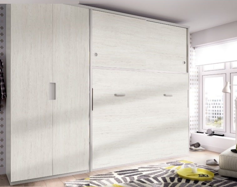 cama abatibles con armario juveniles ikea