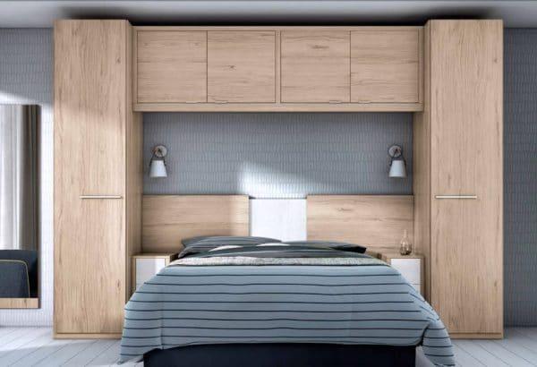 Dormitorio Con Puente De Matrimonio Sue51 Muebles De Tena